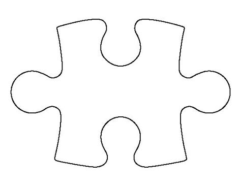 puzzle cut out template costumepartyrun