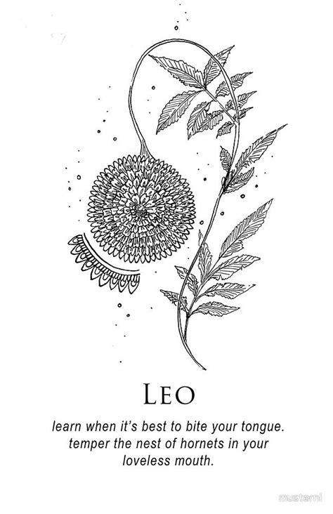 Leo - Shitty Horoscopes Book X: Lovers & Losers by musterni | tattoo ideas | Leo tattoos, Zodiac