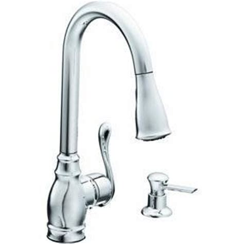single handle faucet w pull out moen ca87003 faucet