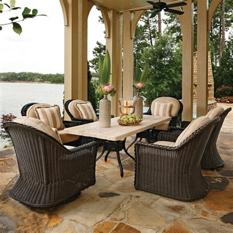 sedona wicker dining set by summer classics free shipping