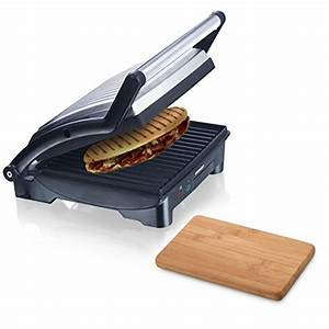 Panini Grill Test : melissa 3in1 sandwich maker 1500w aus edelstahl panini ~ Michelbontemps.com Haus und Dekorationen