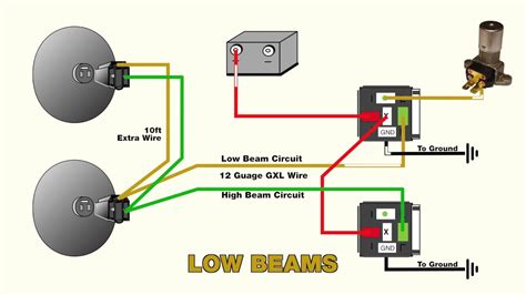How Wire Headlight Relays Youtube