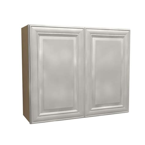 home depot white cabinets eurostyle 36x30x12 5 in valencia wall cabinet in white