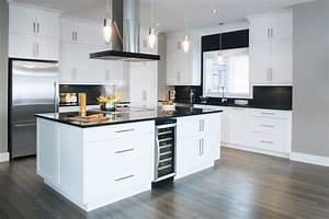 Armoire Rangement Cuisine : fabricant armoires de cuisines armoires bernier ~ Teatrodelosmanantiales.com Idées de Décoration