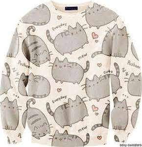 pusheen the cat hoodie original sweater pusheen fusion 174 clothing