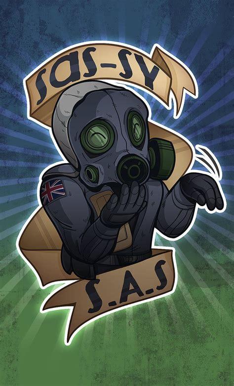 Sassy Sas Csgo Sticker By Zombie On Deviantart Counter