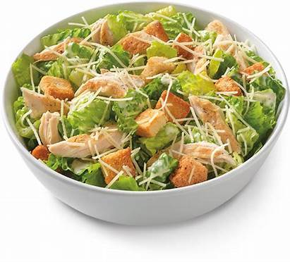 Salad Chicken Caesar Grilled Noodles Company Croutons