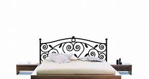 Tete De Lit En Fer Forgé : t te de lit pour chambre d 39 ado les stickers pour habiller les murs et cr er une jolie t te de ~ Teatrodelosmanantiales.com Idées de Décoration
