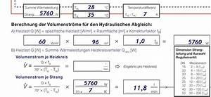 Temperaturdifferenz Berechnen : arbeitshilfen f r den statischen hydraulischen abgleich sbz ~ Themetempest.com Abrechnung