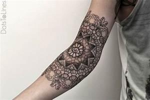 Tattoo Ganzer Arm Frau : unterarm tattoo ideen 40 motive f r frauen und m nner ~ Frokenaadalensverden.com Haus und Dekorationen