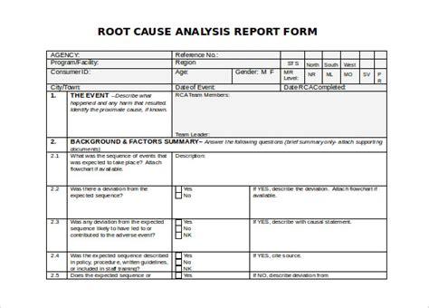 root  analysis templates word  premium