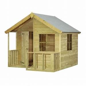 Maisonnette En Bois Castorama : maisonnette en bois cerland ~ Dailycaller-alerts.com Idées de Décoration