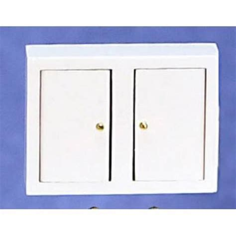 Kitchen Wall Cabinet/wht   Dollhouse Kitchen Cabinets