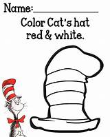 Hat Cat Coloring Seuss Dr Printables Pages Preschool Activities Sheets Hats Mysunwillshine Printable Books Sheet Crafts Cats Suess Fun Letter sketch template