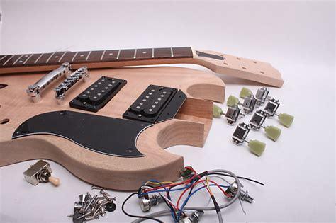 byoguitar sg guitar kit reverb