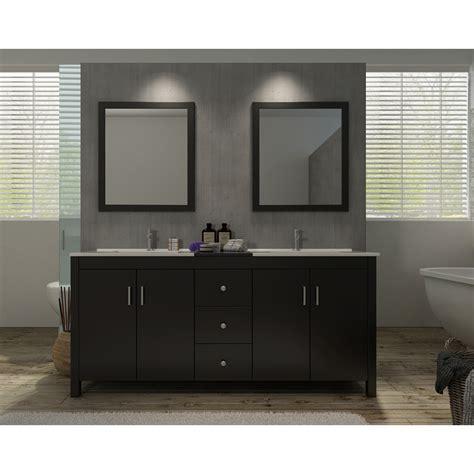 double sink granite countertop ariel hanson 72 quot double sink vanity set with black granite