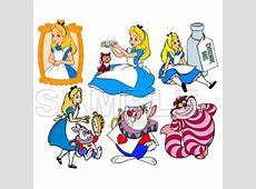 Personalized Iron On Transfers! Alice in Wonderland