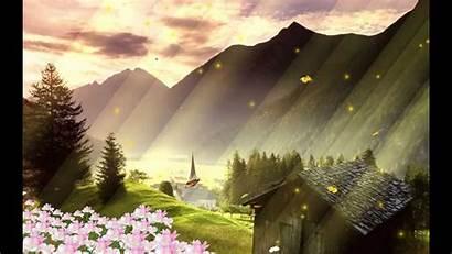 Scenery Cartoon Wallpapers Animated Landscape Backgrounds Desktopanimated