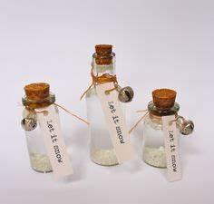 Basteln Mit Glasflaschen : die 26 besten bilder von basteln mit miniflaschen kette ~ Watch28wear.com Haus und Dekorationen