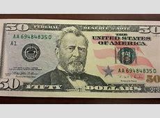 Funny Money Police warn of convincing fake $50 bills