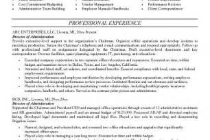 100 100 administrative resume sle help banking