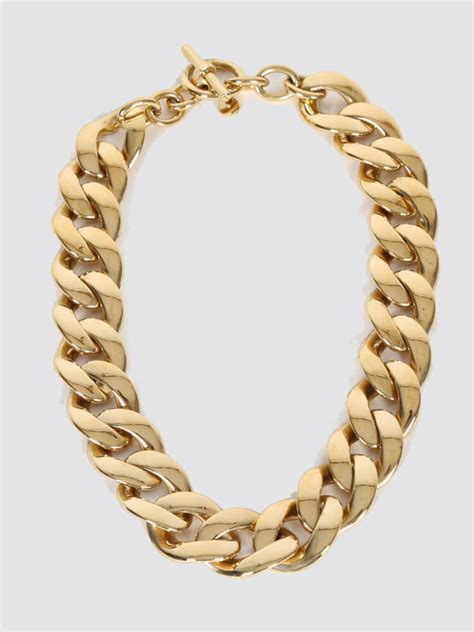 michael kors chunky gold chain necklace luxury bags