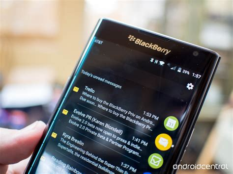 five things to about the blackberry priv android central