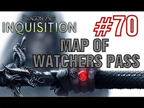 dragon age inquisition map  watchers pass