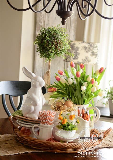 Eastern Kitchen Buffet by Farmhouse Kitchen Vignette Easter Buffet Orange