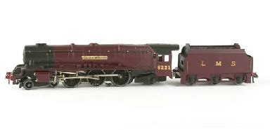 a rare hornby dublo edl2 lms yellow nameplate duchess of atholl locomotive and tender christie s