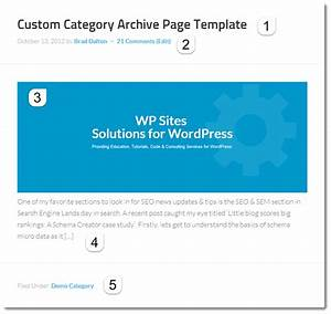 create custom category archive page template in genesis With custom category template wordpress