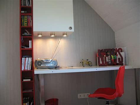 bureau chambre adulte déco bureau dans une chambre