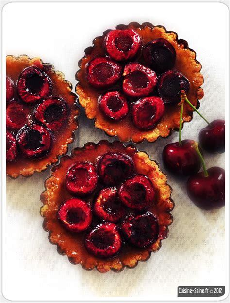 recette bio tartelettes aux cerises cuisine saine