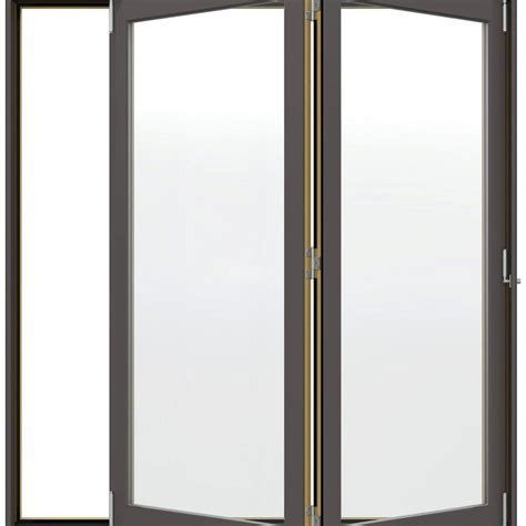 jeld wen w 4500 series right folding wood patio door