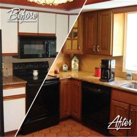 how to reface cabinets with laminate fha standard before after resurfacing cabinets for the