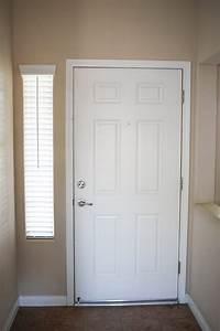 Navy, Blue, Interior, Front, Door