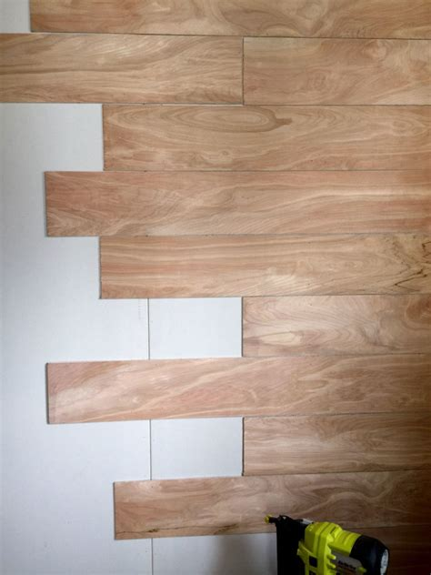 wood planks on walls diy wood planks walls step by step tutorial