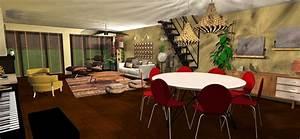 revgercom feng shui salon salle manger idee With salon salle a manger 40m2