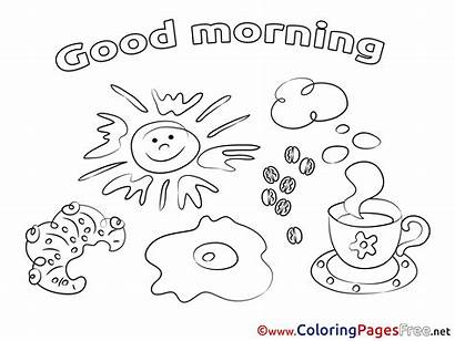 Morning Pages Colouring Coloring Cards Coffee Clip
