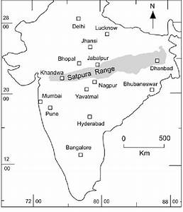 Sketch map of India showing locations of geodetic ...