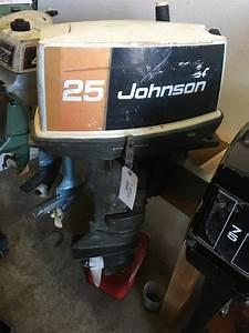 25hp Johnson Seahorse Outboard Motor
