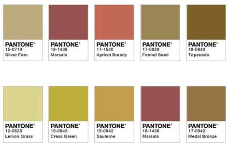 pantone ocra color palettes pantone colour palettes