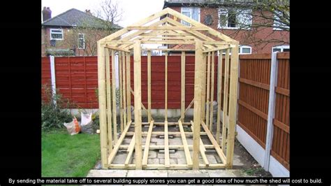 shed plans 8 x 10 8 x 10 shed plans
