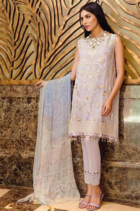 khaadi lawn chiffon eid dresses designs collection