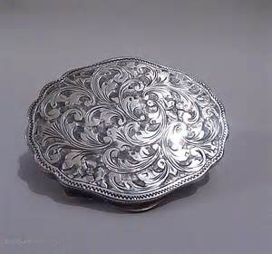 antiques atlas antique silver christening gifts compact