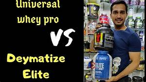 Universal Ultra Whey Vs Dymatize Elite