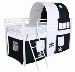 Mid Sleeper Cabin Bed Childrens Kids Bed Tent Bunk Bed ...