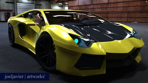 Lamborghini Aventador 2012 New Car 3d Model By Yesmanjoel