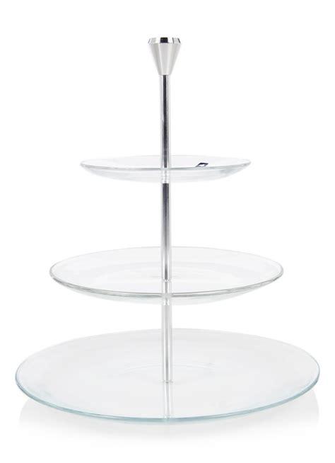 Leonardo Dinner Etagère Van Roestvrij Staal 33 Cm • De