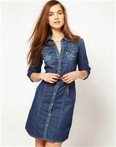 1000 images about vestido mezclilla on pinterest denim With robe en jean levis